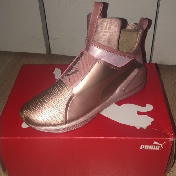 Details about Puma Kylie Jenner Fierce Gold Sneakers Women's Lifestyle Shoes !LIMITED EDITION!